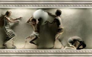 Барельеф мифы